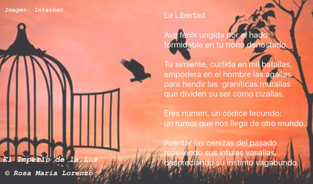 Poema: Rosa María Lorenzo.    Imagen: Internet